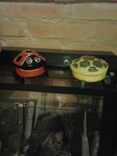 tortuga y mariquita