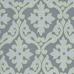 Manufacturer: Timeless Treasures (porto-c7947-grey)  Designer: Alice Kennedy  Collection: Portobello  Print Name: Tonal Damask in Grey      $8.75