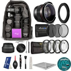 Canon PowerShot SX410 IS SX500 IS SX510 HS Everything You Need Accessory Kit