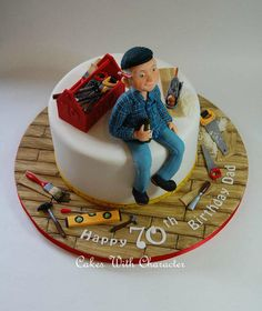 Carpenter Cake - Cake by Cakes With Character