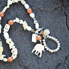 Elephant Necklace | Marquin Designs #elephant