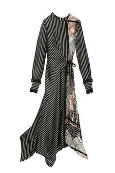 Yigal Azrouël's silk and viscose dress.