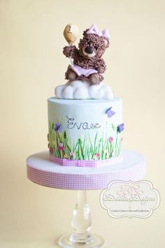 Beary Sweet 1st Birthday! - Cake by Delicia Designs