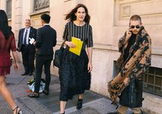 The Best Street Style From Milan Fashion Week Spring '18