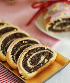 Bread And Pastries, Polish Recipes, Strudel, Cake Cookies, Sushi, Food And Drink, Xmas, Baking, Ethnic Recipes