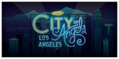 Neon Cities by Radio, via Behance
