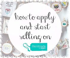 How to Sell Handmade Goods Online Easy Arts And Crafts, Diy Crafts To Sell, Selling Crafts, Online Business Opportunities, Make And Sell, How To Make, Craft Business, Business Ideas, Business Help