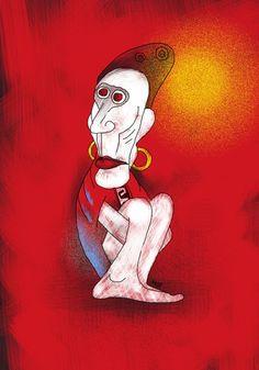 Dibujos con tableta gráfica - Graphic tablet drawings - Federico Abuyé: Ilustración, comic, Illustration, design