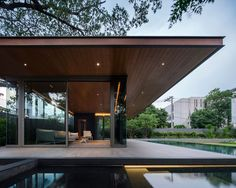 Best Ideas For Modern House Design : – Picture : – Description Marble House by Openbox Architects via onreact Cabinet D Architecture, Residential Architecture, Architecture Design, Best Modern House Design, Modern Interior Design, Modern Exterior, Exterior Design, Marble House, Concrete Houses
