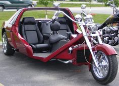 "I HAD A TRIKE BACK IN 1977-78. I BOUGHT IT FROM ANOTHER GUY. HAD A VOLKWAGEN ENGINE, 4-SPEED W/REVERSE. IT WAS CANDY APPLE BLUE METAL FLAKE. WISH I HAD IT NOW. IT WAS A BABE MAGNET FOR SURE!!!!! IT HAD A LICENSE PLATE THAT SAID ""THE BITCH"" GAS, GRASS, OR ASS, NO ONE RIDES FOR FREE!!!!"