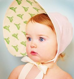 Baby Jane Sun Bonnet - oh. my. goodness.  That hat, those EYES.  I am in love.