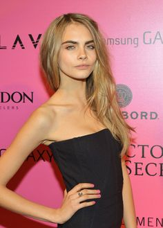 Cara Delevingne - Samsung Galaxy Features Arrivals At The Official Victoria's Secret Fashion Show After Party