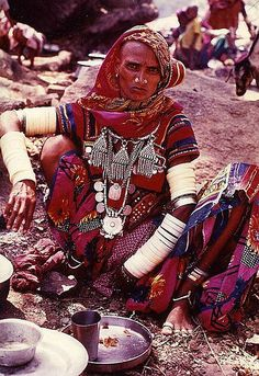 gypsy in Rajasthan, India ~ by Carl Parkes
