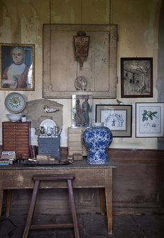 Such a charming collections of item, lovely display, patina, etc etc
