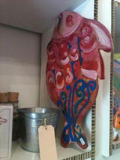 Centrotavola Pesce Pezzo unico Made in Lipari cm  50