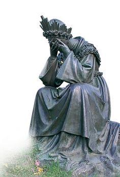 Las mayores perspectivas históricas | Caballeros de la Virgen La Salette, St Maria, Sacred Heart, Eminem, Madonna, Christianity, Garden Sculpture, Catholic, Mary