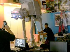 1/6 scale Star Wars At At 10ft tall at Ooo Wee by Markas-Delray on DeviantArt