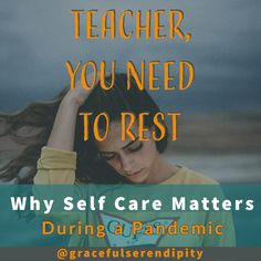 #teacherselfcare #teachingduringapandemic