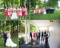 Kate + Cal | Lyman Estate Wedding | Nancy Gould Photography