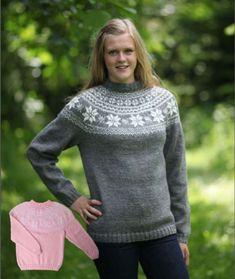 Sweater til børn Drops Design, Pullover, Turtle Neck, Knitting, Crochet, Sweaters, Cardigans, Knits, Crafty