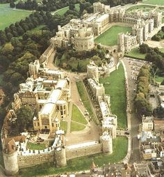 Windsor castle is the largest inhabited castle in the world