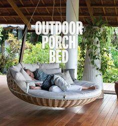 Outdoor  porch bed