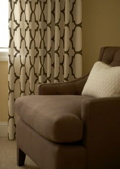 Curtain pattern for living room