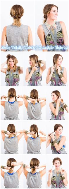 DIY | Twisted Hairstyle Tutorial