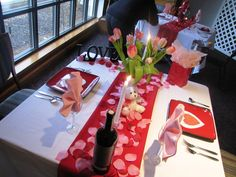 Romantic Valentine Day Table Settings Ideas - Real House Design