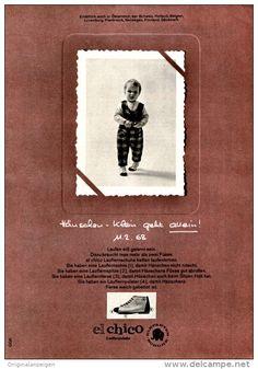 Original-Werbung/ Anzeige 1968 - EL CHICO / ELEFANTEN SCHUHE - ca. 120 x 170 mm