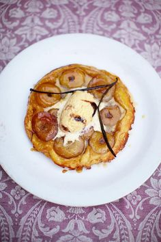 The world-famous tarte Tatin My take on the classic French apple tart - Light, golden puff pastry with soft juicy fruit and crisp caramel is a great combination! | Jamie Oliver