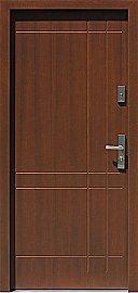 Drzwi zewnętrzne nowoczesne model 685,2 w kolorze orzech
