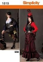 Misses Steampunk Costume