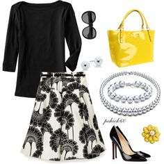 Love this classy outfit!