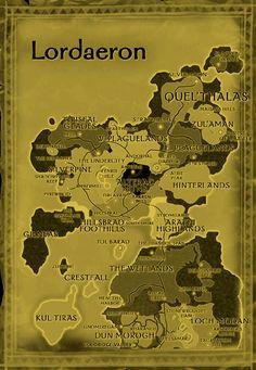 Warcraft map pinterest fantasy map gumiabroncs Gallery