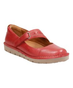 Look what I found on #zulily! Red Un Briarcrest Leather Mary Jane #zulilyfinds