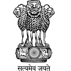 The National Emblem of India is derived from the time of the Emperor Ashoka. The emblem is a replica of the Lion of Sarnath, near Varanasi in Uttar Pradesh. The Lion Capital was erected in the third century BC by Emperor Ashoka to mark the spot where Budd Neem Karoli Baba, Government Logo, Indian Government, Om Namah Shivaya, New Delhi, Private Bank, Parliament Of India, India Logo, Fu Dog
