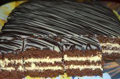 Prajitura cu cacao si mascarpone Dessert Recipes, Desserts, Nutella, Tiramisu, Caramel, Cooking, Ethnic Recipes, Food, Garden