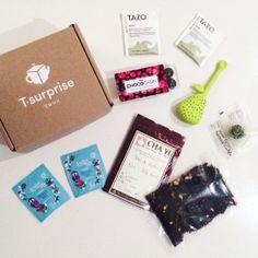 T-suprise; la thé box qui arrive chez vous chaque mois. Pour les amateurs de thé! #tea http://blog-and-the-city.com/jai-teste-la-t-surprise-the-box/