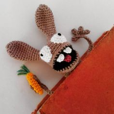 It is done and i am totally squashed by the final result ... Pattern available tomorrow on www.supergurumi.de ;) #supergurumi #crochet #amigurumi #häkeln #Häkelanleitung #bookmark #lesezeichen #rabbit #bunny #easter