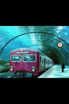 Venice train station underwater