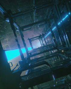 Beeple is Mike Winkelmann, a graphic designer from Appleton, Wisconsin, USA. His short films have screened at onedotzero, Prix Ars Electronica… Sci Fi Environment, Cyberpunk City, Matte Painting, Mass Effect, Sci Fi Art, Cinema 4d, Fantasy World, Concept Art, Scenery