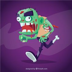 Free vector Zombie monster #10639