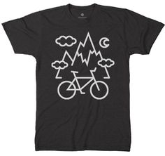 Hit the road, hit the mountains. Mountain Bike Love. Super soft poly cotton blend. Sizes S-XXL. Shipped via USPS First Class.