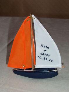 Sailboat Weddibg Favor - Nautical Wedding Ideas