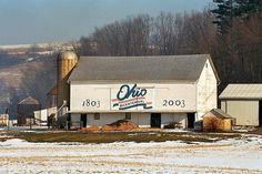 (#20) Ohio Bicentennial Barn, Coshocton County by bkwdayton - on hiatus, via Flickr
