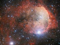 Stellar nursery 7,500 light years away.