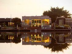 Residential Architecture Design-Cass Calder Smith Stinson Beach, Ca Architecture Design, Sustainable Architecture, Residential Architecture, Contemporary Architecture, Architecture Interiors, Modern Contemporary, Small Beach Houses, Stinson Beach, Outdoor Spaces