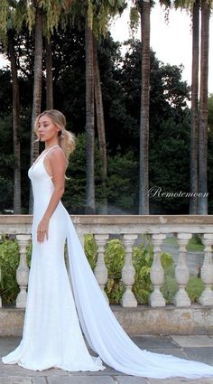 387addcd8a Sexy Spaghetti Straps Beach Wedding Dress White Sequins V-neck Low Open  Back Mermaid Wedding