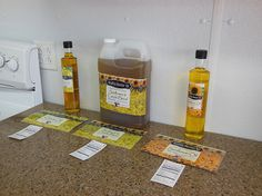Right now, Healthy Hoosier Oil has three main oil products. Intern Avenue: What If and Why